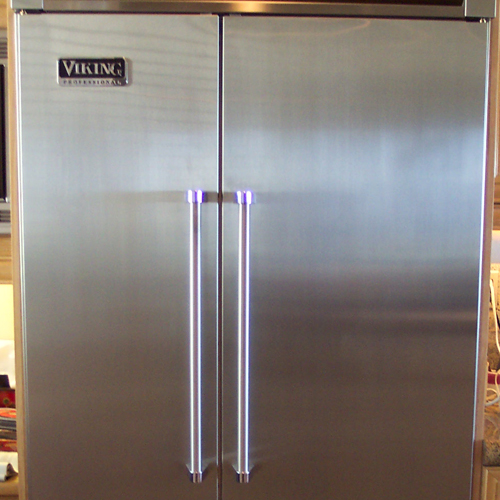 After-Stainless Steel Fridge Repair
