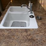 Speckled Island Counter Refinishing Before