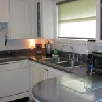 Rounded Kitchen Countertop Refinishing After