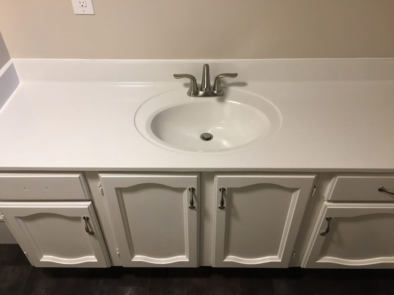 After-Cultured Marble Vanity Counter