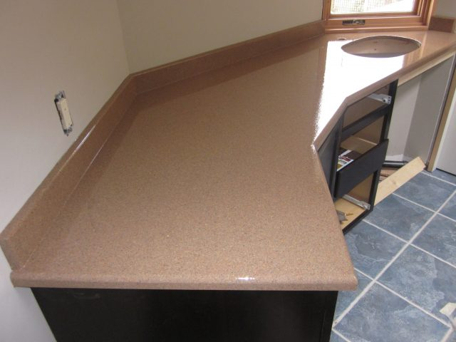 After-Wood Countertop