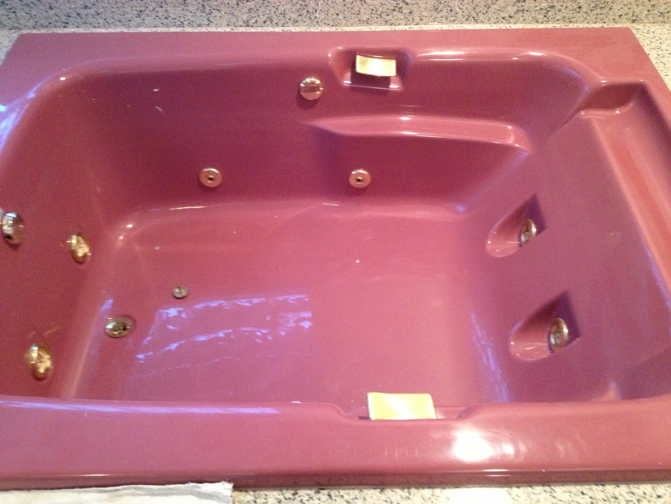 Before-Pink Jacuzzi