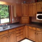 Large Kitchen Countertops Refinishing After