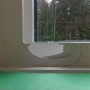 Window Sill Repair Before
